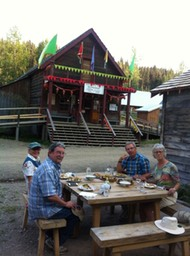 Picnic at Barkerville
